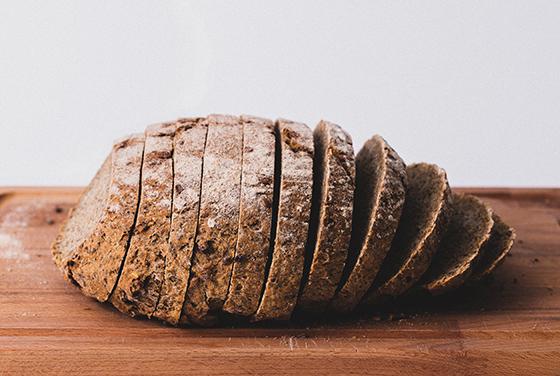 有機原料で作った冷凍パン